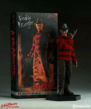 """Sideshow Collectibles 12"""" Freddy Krueger Figure / Wes Cravens New Nightmare Rare"""