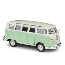 Maisto 1:25 Scale Diecast Model Car Toy Volkswagen Samba Bus VW 1960s Van Green
