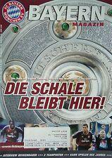 Programm 2001/02 FC Bayern München - FC Schalke 04