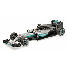 MINICHAMPS 110 160044 MERCEDES AMG PETRONAS F1 W07 race car Lewis HAMILTON 1:18