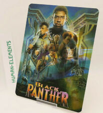 BLACK PANTHER - Lenticular 3D Flip Magnet Cover FOR bluray steelbook