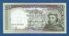 PORTUGAL -- 20 ESCUDOS ( 26.5.1964 ) -- EBC- // aXF -- CHAPA 7 -- PICK 167b .
