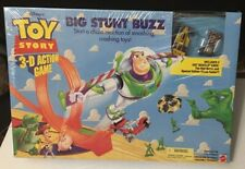 Toy Story Big Stunt Buzz 3-D Action Game - Includes 2 Hot Wheels Cars. Lot TS 10