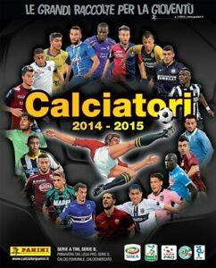 MANCOLISTA FIGURINE CALCIATORI PANINI 2014/15 2014 2015
