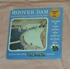 vintage HOOVER DAM Nevada VIEW-MASTER REELS packet Vacationland Series