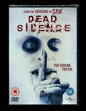 Dead Silence (DVD, 2007, Anamorphic Widescreen) horror (REGION 2 not for USA)