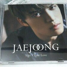 JAEJOONG Sign/Your Love A type CD+DVD First Limited Edition Japan JYJ K-POP F/S