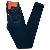 Teens Girl's Women's Levi's 710 Super Skinny Fit Blue Jeans Size W23 L32