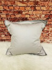 "HUDSON PARK COLLECTION 800-TC GRAPHITE GRAY 16"" X 16"" DECORATIVE PILLOW"