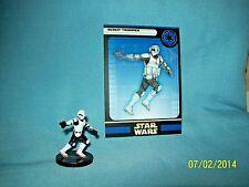 WotC Star Wars Miniatures Scout Trooper, Rebel Storm 33/60, Empire, Uncommon