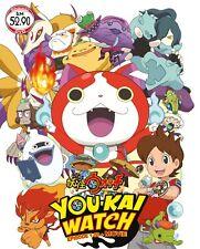 DVD YoKai Watch Episode 1-50 + Movie Yo-kai Watch Anime Boxset