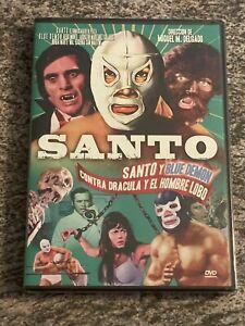 Santo Y Blue Demon Contra Dracula Y El Hombre Lobo (DVD, Spanish) NEW *RARE OOP*