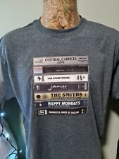 More details for manchester tapes tee t shirt stone roses madchester music factory records