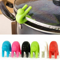 Useful Silicone Kitchen Accessories Lift Pot Cover Overflow Device Heighter Tool