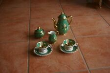 HAGEMANN - Porzellan Manufaktur - Moccaservice -Teeservice - handbemalt Vintage