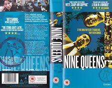 NINE QUEENS VHS PAL GASTON PAULS,LETICIA BREDICE,ARGENTINIAN RARE