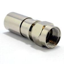Professional Compression F Type Crimp Plug Connector Waterproof End [006989]
