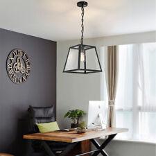 Large Chandelier Lighting Black Pendant Light Kitchen Ceiling Lamp Home Lights