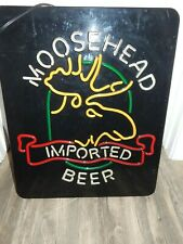 Moosehead Beer Light Up Bar Sign Neon Large