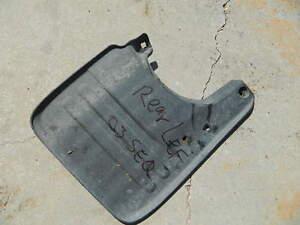 01-07 Toyota Sequoia Rear OEM Mud Flap left