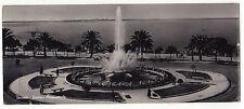 CARTOLINA DI TARANTO FONTANA ORNAMENTALE 1956 TASSATA  5-122BIS