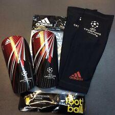 New Adidas Unisex UEFA Champions League Shin Guards F50 Prolite Size Small