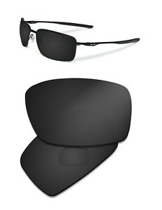 Polarized Replacement Lenses for Oakley New Square Wire II OO4075 Sunglasses