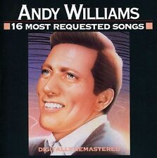 Andy Williams - 16 Most Requested Songs [New CD]
