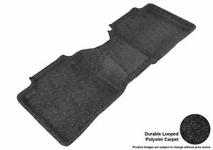 All Weather For 2009-2015 Toyota Venza Floor Mat Set Black Rear Classic
