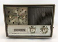 "Vintage Magnavox Clock Radio ""Gaytime"" Model C003 Radio Not Working"