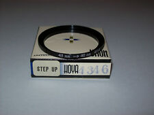 HIGH QUALITY VINTAGE HOYA 43-46MM STEP UP FILTER RING MADE IN JAPAN IN ITS BOX