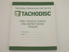 Tachodisc Driver Daily Vehicle Check And Defect Book for Trailers(T20TRL) HGV