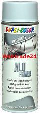 1x400ml Alu Primer Grundirung für Aluminium Haftgrund LACKSPRAY Untergrund grau