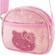 Women Girl Hello Kitty Messenger Zipper Bag Handbag Shoulder Tote Bag Pink