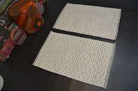 2 handgewebter Teppich Kelim Kilim Wolle auf Wolle 2x ca 90 x 60 NEU Grau Beige