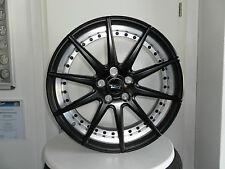 Elegance Wheels Radsatz 20-Zoll für div. BMW, 9.0 und 10.5 x20 schwarz matt