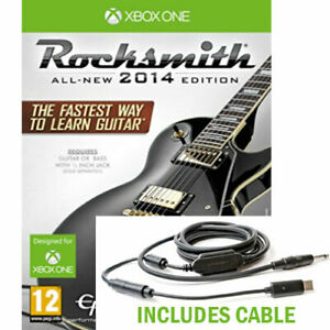 Rocksmith 2014 Edition with Real Tone Cable XBOX ONE from Ubisoft New and Sealed