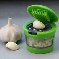 Stainless Press Vegetable Garlic Onion Slicer Chopper Cutter Dicer Kitchen Tools