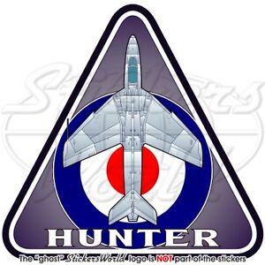 """Hawker HUNTER RAF Hawker Siddeley UK British Royal AirForce 3.7"""" Sticker, Decal"""