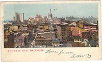 USA - Cartolina - Baltimore - Vista Generale