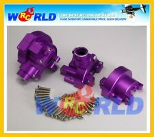 GPM ALLOY FRONT & REAR DIFF GEARBOX GEAR BOX P FOR HPI NITRO RS4 3