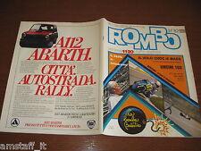 RIVISTA ROMBO 1982/32=FERRARI PIRONI TAMBAY=GP F1 GERMANIA=MORINI 350 KANGURO=