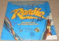 SOUNDTRACK TO THE MOVIE ROADIE autographed vinyl album BY CHEAP TRICK,BLONDIE +1