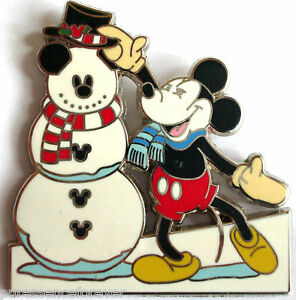 WDW Spectacle of Pins 2005: Snowman/Mickey Box Set Pin