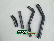 FOR Yamaha YZ125/YZ 125 1996-2001 2000 1999 98 97 Silicone radiator hose BLACK.