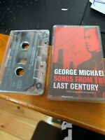 GEORGE MICHAEL - 'Songs From The Last Century' 1999 Cassette Tape Album