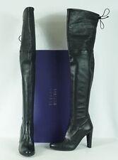 Stuart Weitzman Highland Nero Plonge Stretch OTK Boots US 10M $875 Worn 1X