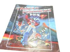 Transformers - G1 - Panini Collectors Album (dutch / french)