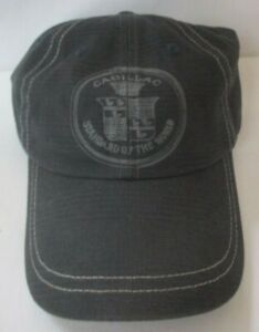 CADILLAC STANDARD OF THE WORLD BLUE ADJUSTABLE CAP HAT