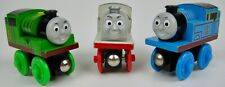 Rare Thomas the Train & Friends Wooden Railway Magnetic- THOMAS, STANLEY, PERCY!